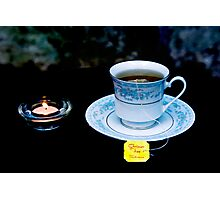 Light Tea  Photographic Print