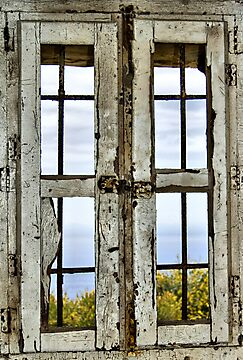 Window, Look Out Tower, Bateria Cenizas, Costa Calida, Spain  by Squealia