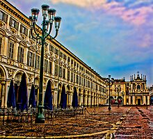 Turin - San Carlo square's view by becks78