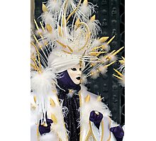 Venice - Carnival  Mask Series 02 Photographic Print