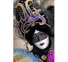 Venice - Carnival  Mask Series 05 Photographic Print