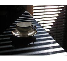 pyramid tea cup  Photographic Print
