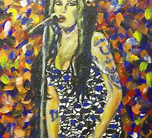 Amy Winehouse by artrme