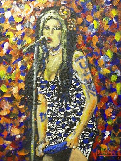 Amy Winehouse by artrme