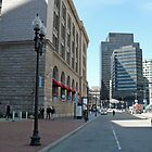 South Station, Summer Street, April in Boston Series 2009 by Jack McCabe