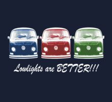 Lowlights are BETTER!! Kombi Shirt - Blue, Red, Green by melodyart