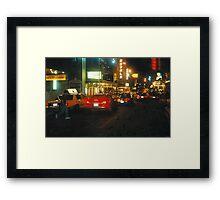 On Broadway Framed Print