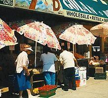 Brookln Street Umbrellas by magins
