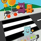 Stop! Lolly time! -  Card by Matt Simner