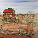 """Ned Kelly at the Ettamogha Pub"" Original Sold  by EJCairns"