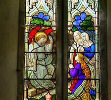 Window-All Saints Church -Hawnby. by Trevor Kersley