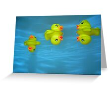 Ducky Greeting Card