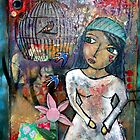What cages me?  What holds me back? by Brenda G