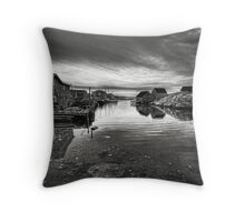 Atlantic Gloom Throw Pillow