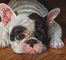 French Bulldog by artbyakiko