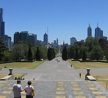 Melbourne in January by Nilmini