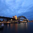 the Sydney harbor bridge by Jess Chin