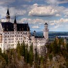 Fairytale Castle (Neuschwanstein) by SarahSchloo