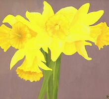 Daffodils by Barbara Weir