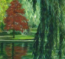 Autumn in Boston by Barbara Weir