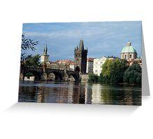 Prague Greeting Card
