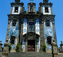 Church Of Saint Ildefonso, Oporto, Portugal by Debora Horwitz