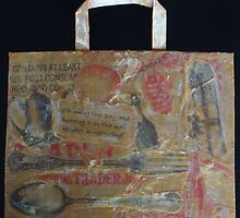 Turn Your Brown Paper Bag Into A Collage! by TatianaK