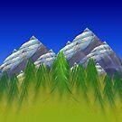 Misty Mountain Hop by ArtByDrew