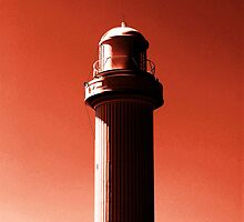 Orange LightHouse by Sal in Wollongong