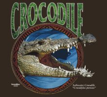 Saltwater Crocodile T Shirt by bear77