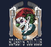 Evil Clown T Shirt Smith & Wesson 500 by bear77