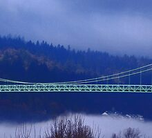 St Johns Bridge by Randy Richards