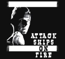 Roy Batty - Attack Ships on Fire by Fitcharoo