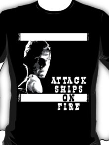 Roy Batty - Attack Ships on Fire T-Shirt