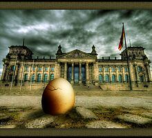 The Egg Of Columbus by nixArt