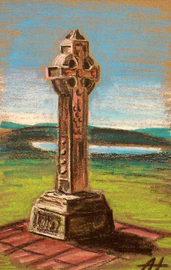 The Celtic cross by Alan Hogan