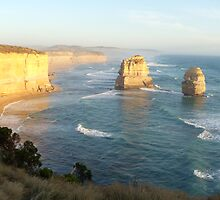 Sunset Great Ocean Road, Australia by mumuasia
