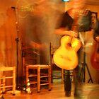 two flamenco guitarists by sirjonty