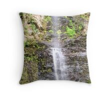 Oh so High Waterfall ! Throw Pillow