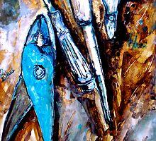 Blue... by © Janis Zroback