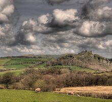 Carreg Cennen Castle, Carmarthenshire, South Wales by southwales