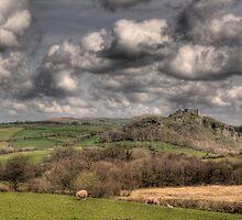 Carreg Cennen Castle, Carmarthenshire, South Wales by southwales