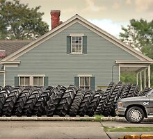 Louisiana Tires by Paul Vanzella