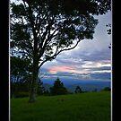 Sunset from Lamington National Park by Jennifer Ellison