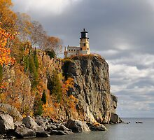 Split Rock Light house #1 by JimGuy