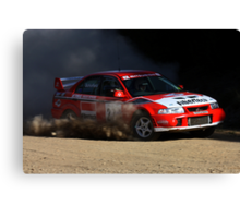 Rally of Lithgow (Car 27) Canvas Print