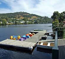 Huon River by GilliB