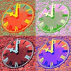 Abstracted Clock by munggo2