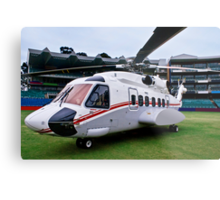 Sikorsky S-92 … Parked @ The Wanderers Cricket Stadium Metal Print