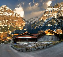 seeking afternoon in Grindelwald-Swiss by GOSIA GRZYBEK